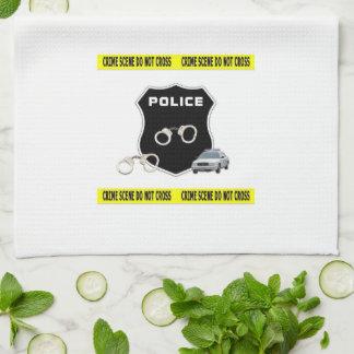 Police Crime Scene Kitchen Towel
