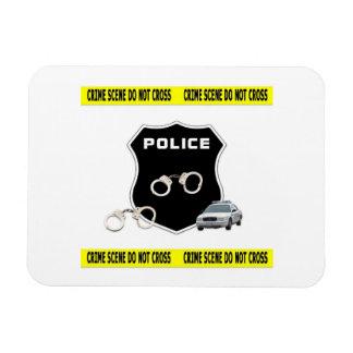 Police Crime Scene Rectangular Photo Magnet