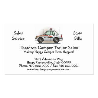 Police Cruiser Car Cop Car Business Card