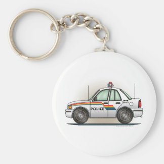 Police Cruiser Car Cop Car Key Chain