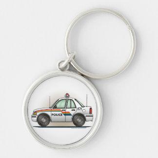 Police Cruiser Car Cop Car Keychains
