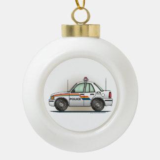 Police Cruiser Car Cop Car Ornaments
