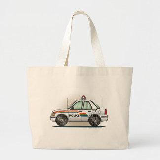 Police Cruiser Car Cop Car Tote Bag