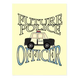 Police Cruiser Future Police Officer Postcard