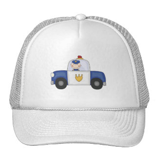 Police Cruiser T-shirts and Gifts Hat