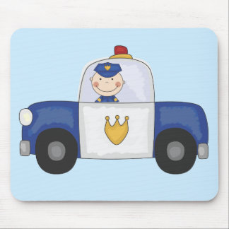 Police Cruiser T-shirts and Gifts Mouse Pad
