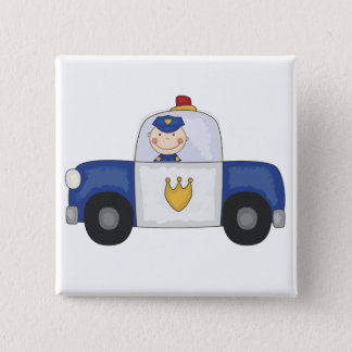 Police Cruiser T-shirts and Gifts Pinback Button