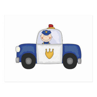 Police Cruiser T-shirts and Gifts Postcard