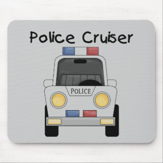 Police Cruiser Tshirts and Gifts Mouse Pad