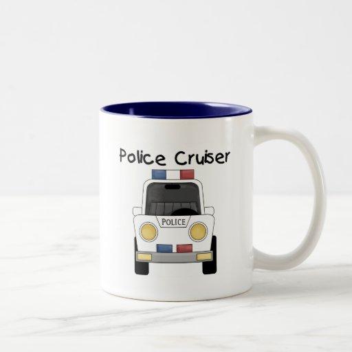 Police Cruiser Tshirts and Gifts Coffee Mug