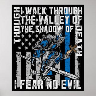 Police Crusader I Fear No Evil Poster