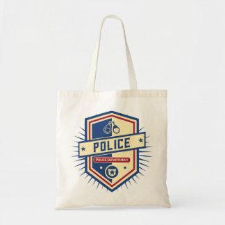 Police Department Crest Tote Bag
