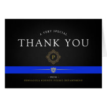 Police Department Custom Thank You