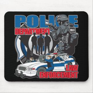 Police Department Mouse Pad