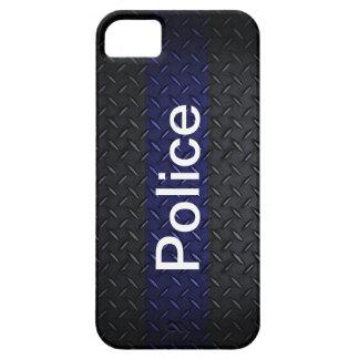 Police Diamond Plate Style Smart Phone Case
