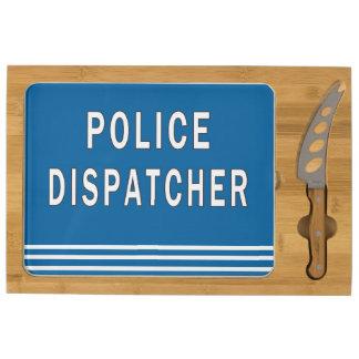 Police Dispatcher Cheese Platter