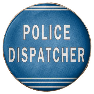 Police Dispatcher Chocolate Dipped Oreo
