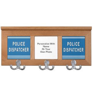 Police Dispatcher Coat Rack