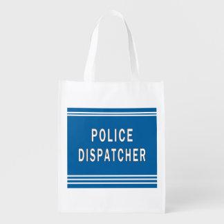 Police Dispatcher Grocery Bag