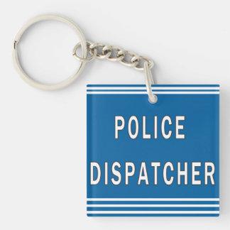Police Dispatcher Keychain