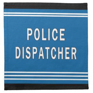 Police Dispatcher Napkin