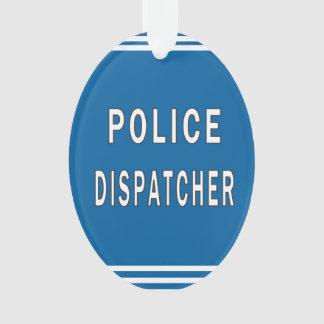 Police Dispatcher Ornament