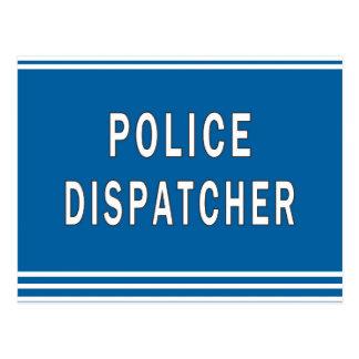 Police Dispatcher Postcard