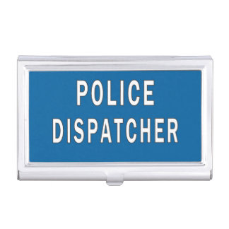 Police Dispatchers Business Card Case