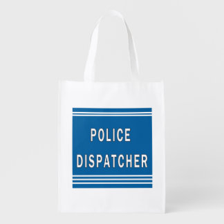 Police Dispatchers Grocery Bag
