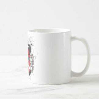 POLICE DIVER CLASSIC WHITE COFFEE MUG