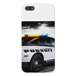Police Dodge Charger I-Phone 5 case