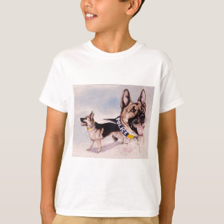 Police Dogs for Kids help phone T-Shirt
