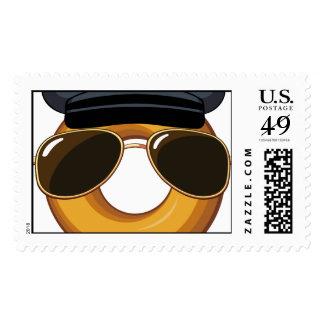 Police Donut Stamp