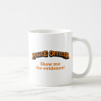 Police / Evidence Coffee Mug