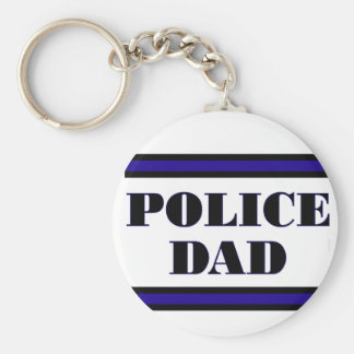Police Family Keychain