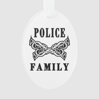 Police Family Ornament