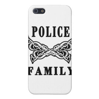 Police Family Tattoos Case For iPhone SE/5/5s