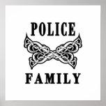 Police Family Tattoos Print