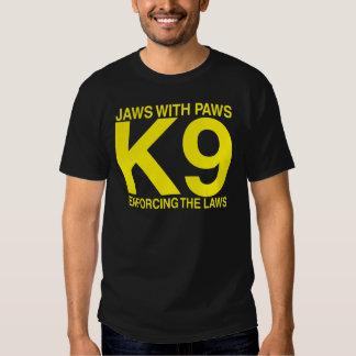 Police Fire Bomb K9 T-shirt