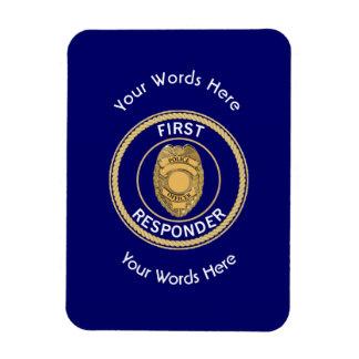 Police First Responder Magnet