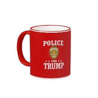 POLICE FOR TRUMP RINGER MUG