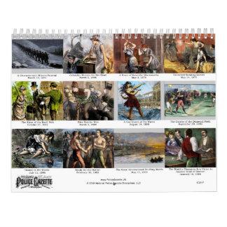 Police Gazette 2017 Calendar