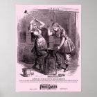 Police Gazette poster Blacksmiths