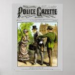 Police Gazette poster Pickpocket