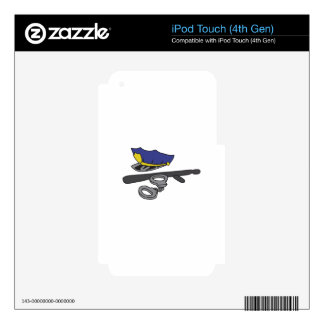 POLICE GEAR iPod TOUCH 4G SKIN