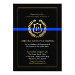 Police Graduation | Retirement Themed Monogram Card at Zazzle