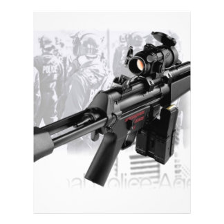 Police Gun Flyer