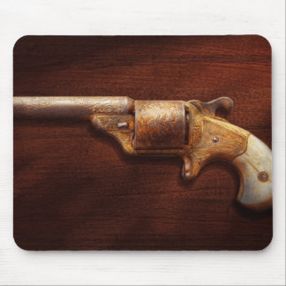 Police - Gun - Mr Fancy Pants Mouse Pad