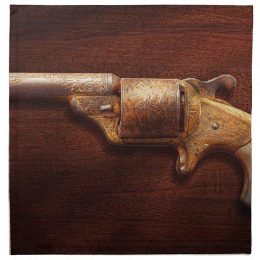 Police - Gun - Mr Fancy Pants Napkins