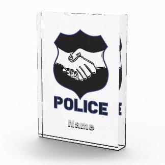 Police Hand Shake Awards
